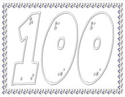Tactueux image regarding 100 days of school printable