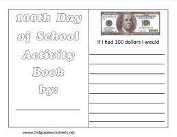 math worksheet : 100th day of school worksheets and printouts : 100 Day Math Worksheets
