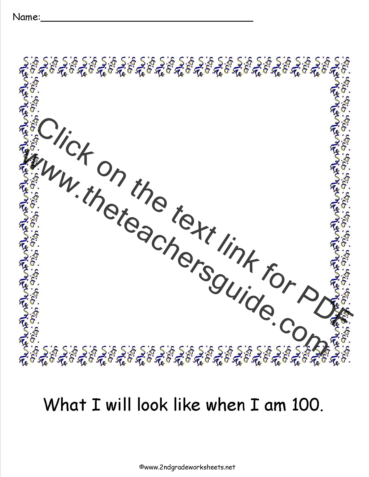 100th Day of School Worksheets and Printouts – 100th Day of School Worksheets