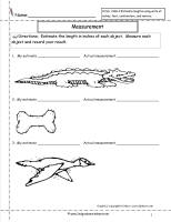CCSS 2.MD.3 Worksheet