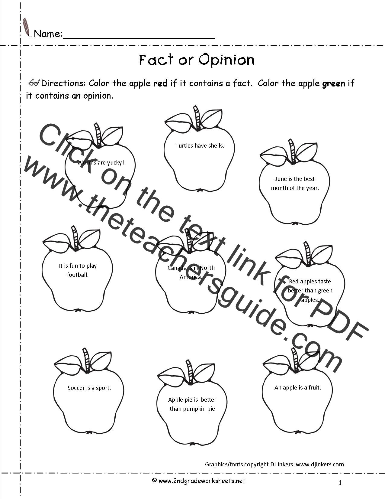 CCSSELALiteracyW21 Worksheets – Fact and Opinion Worksheets 2nd Grade