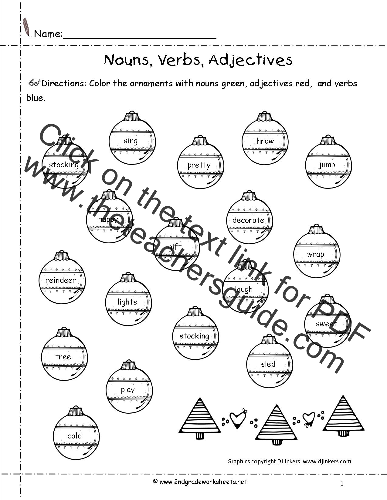 Worksheets Nouns And Verbs The Best and Most Comprehensive – Noun and Verb Worksheets