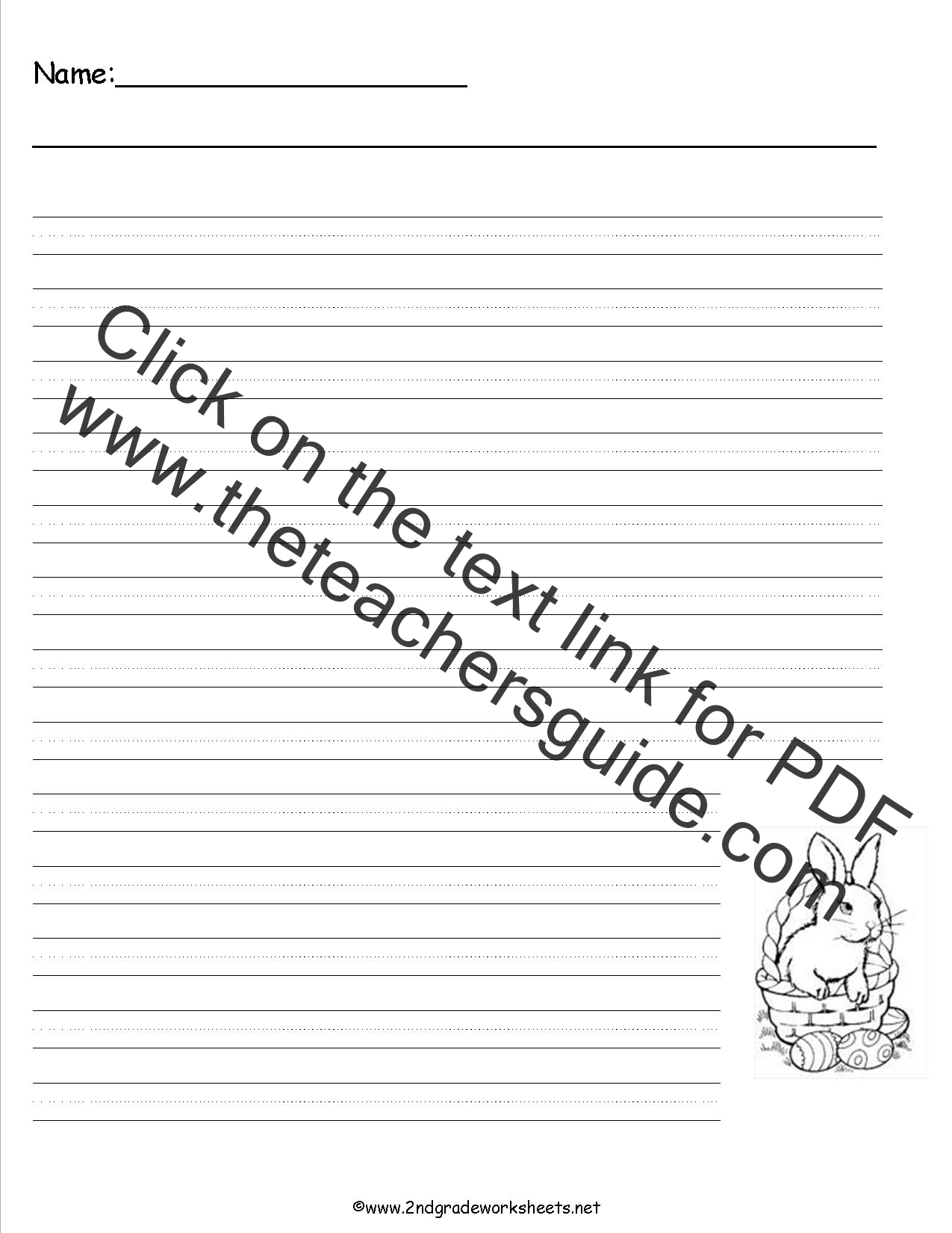 worksheet Free Easter Worksheets easter worksheets and printouts writing paper