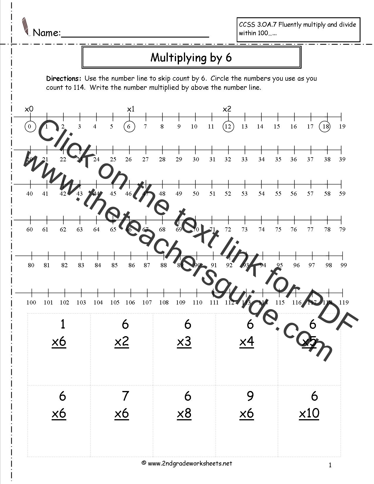 worksheet Line Design Worksheet Six multiplication worksheets and printouts worksheet