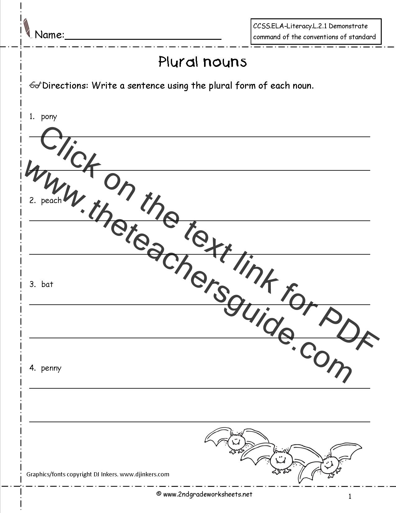 Worksheet Plural Noun Worksheets Grass Fedjp Worksheet Study Site