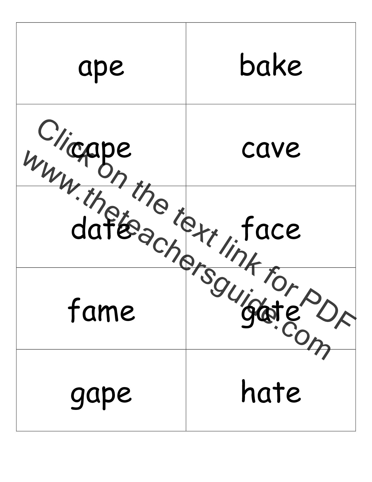 Free Worksheet Long A Vowel Worksheets second grade phonics worksheets and flashcards flashcards