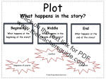 story plot reference card