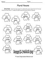 st. patricks day worksheet