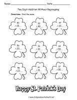 st patricks day worksheet