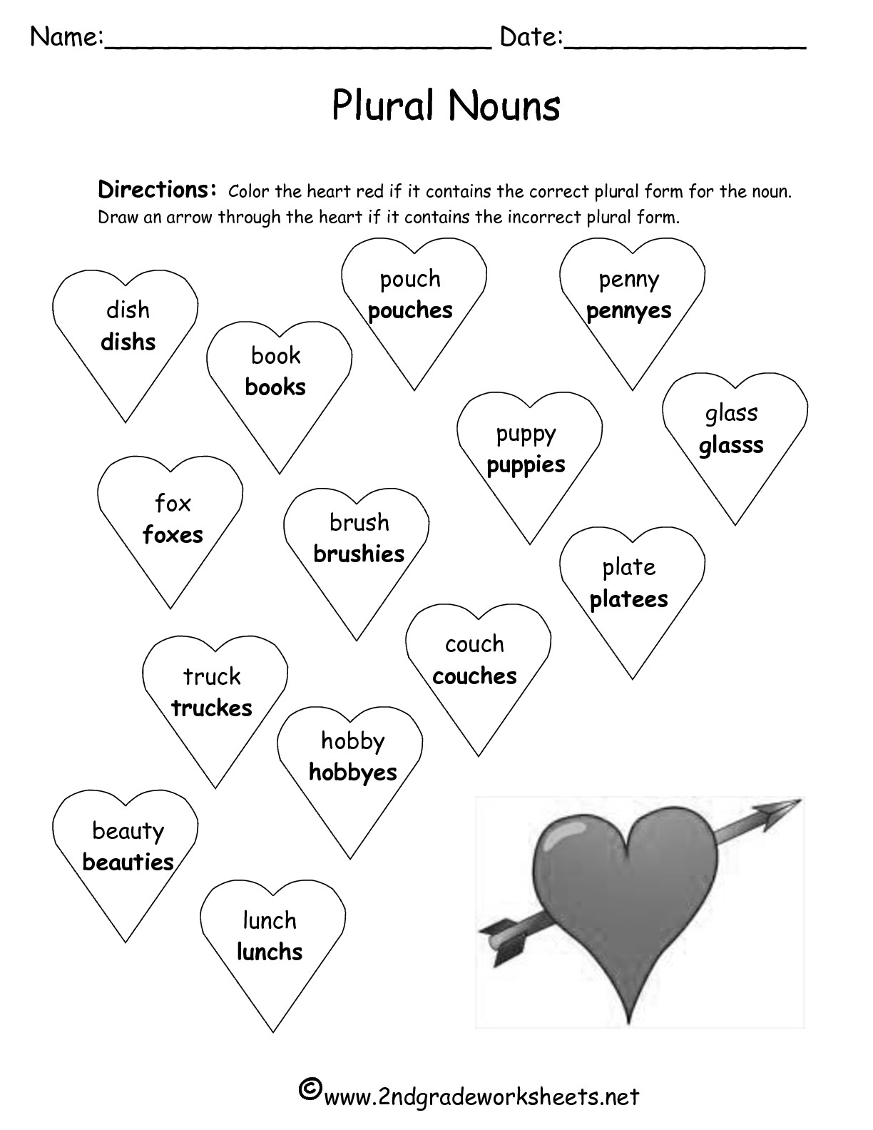 free valentine s day math worksheets 2nd grade free best free printable worksheets. Black Bedroom Furniture Sets. Home Design Ideas