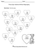 valentines day worksheet